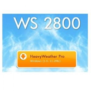 logiciel heavy weather pro ws2800